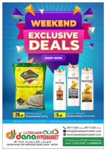 Dana Hypermarket Weekend Exclusive deals Leaflet Cover page