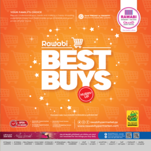 Rawabi Hypermarket Best Buys offers Leaflet Cover page